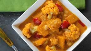 Coconut-curry kabocha squash is the perfect meal on