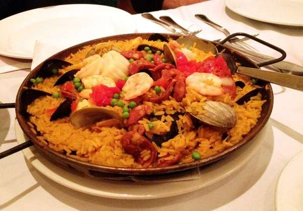 Paella Valenciana is one of the specialties at