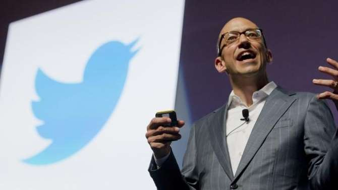 Dick Costolo speaks on June 20, 2012, during
