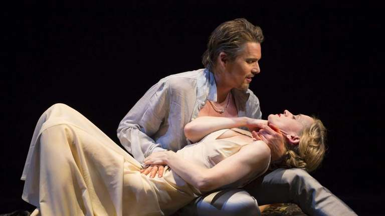 Ethan Hawke and Anne-Marie Duff in the Lincoln