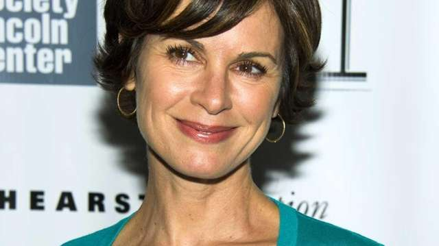 ABC News anchor Elizabeth Vargas at the New