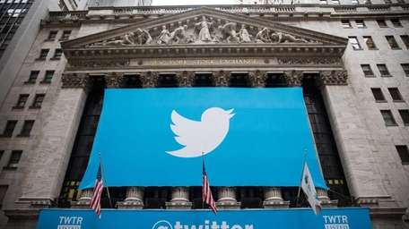 The Twitter logo is displayed on a banner