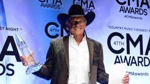 Entertainer of the Year award winner George Strait