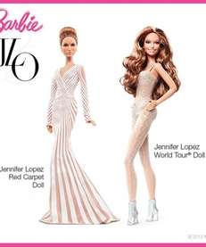 The new J. Lo Barbie has come under
