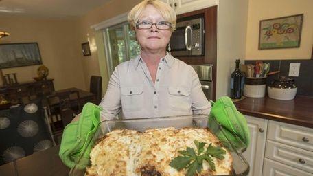 Alexandra Bilinski developed her butternut squash lasagna to
