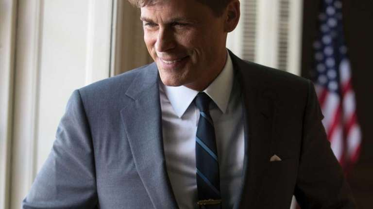 Rob Lowe as President John F. Kennedy in