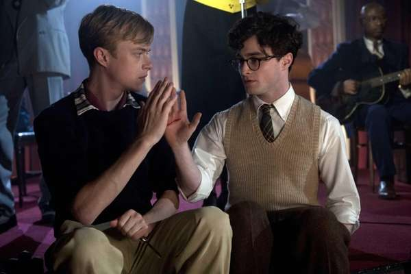Dane DeHaan, left, as Lucien Carr and Daniel