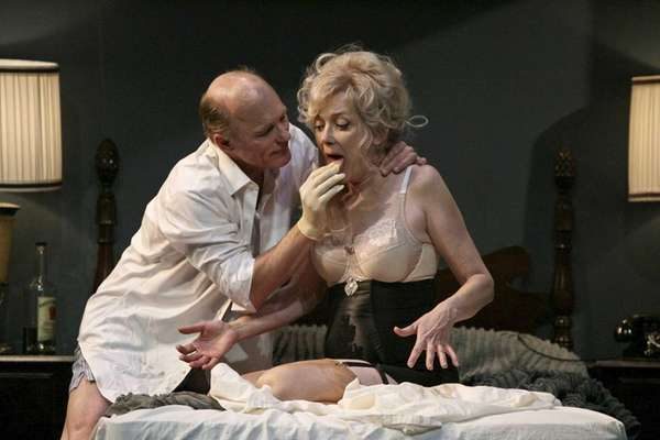 From left, Ed Harris and Glenne Headly in