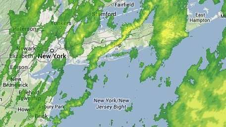 Thursday's drizzle and light showers will usher in