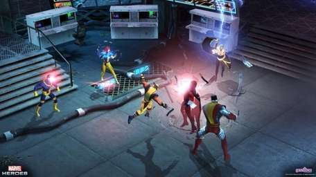 Marvel Heroes is a free-to-play Massively Multiplayer RPG
