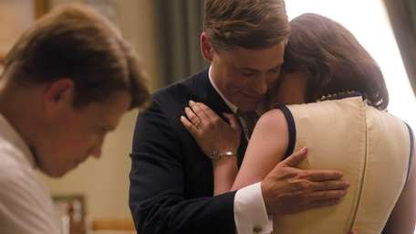 Rob Lowe as President John F. Kennedy and
