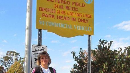 Kim Schutz sought dismissal of a parking ticket