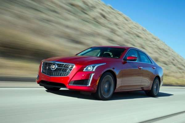 The 2014 Cadillac CTS Vsport goes from zero