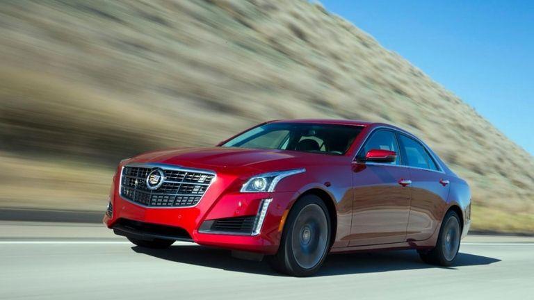 The 2014 Cadillac CTS Vsport goes from zero