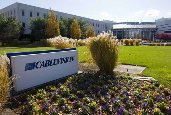 Cablevision Systems Corp. headquarters in Bethpage. Cablevision said