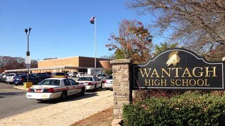 Multiple units were dispatched to Wantagh High School,