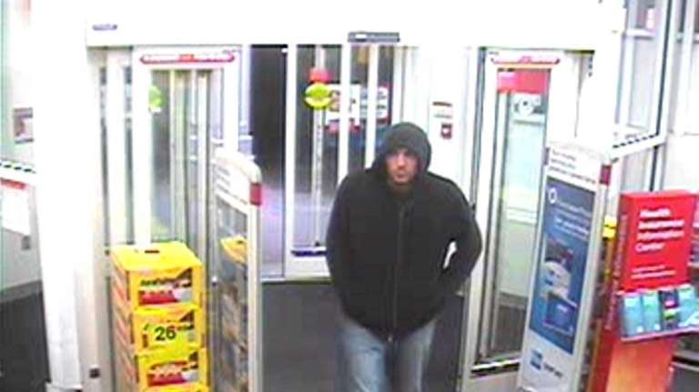 A suspect entered CVS, 729 Portion Rd., and
