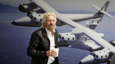 Photo of September 25, 2013 British entrepreneur Richard