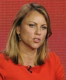 """60 Minutes"" reporter Lara Logan takes part in"