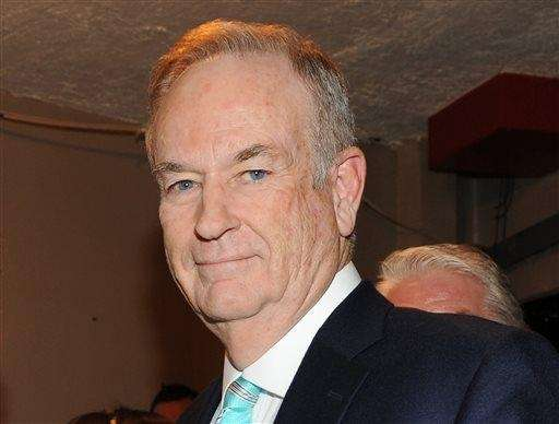 Fox News commentator and author Bill O'Reilly is