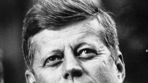 Senator John F. Kennedy in Seattle on the