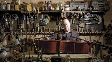 Barrie Kolstein, owner of string instrument maker and