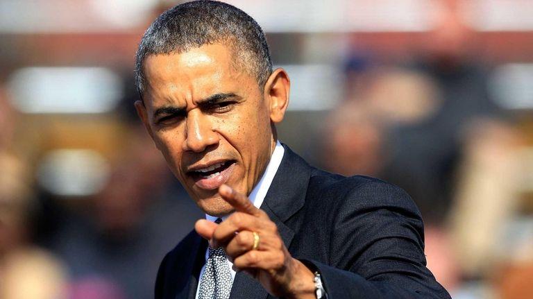 U.S. President Barack Obama speaks during an Economic