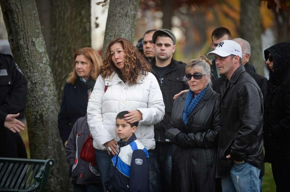 Officials unveiled a memorial in Massapequa Park Saturday