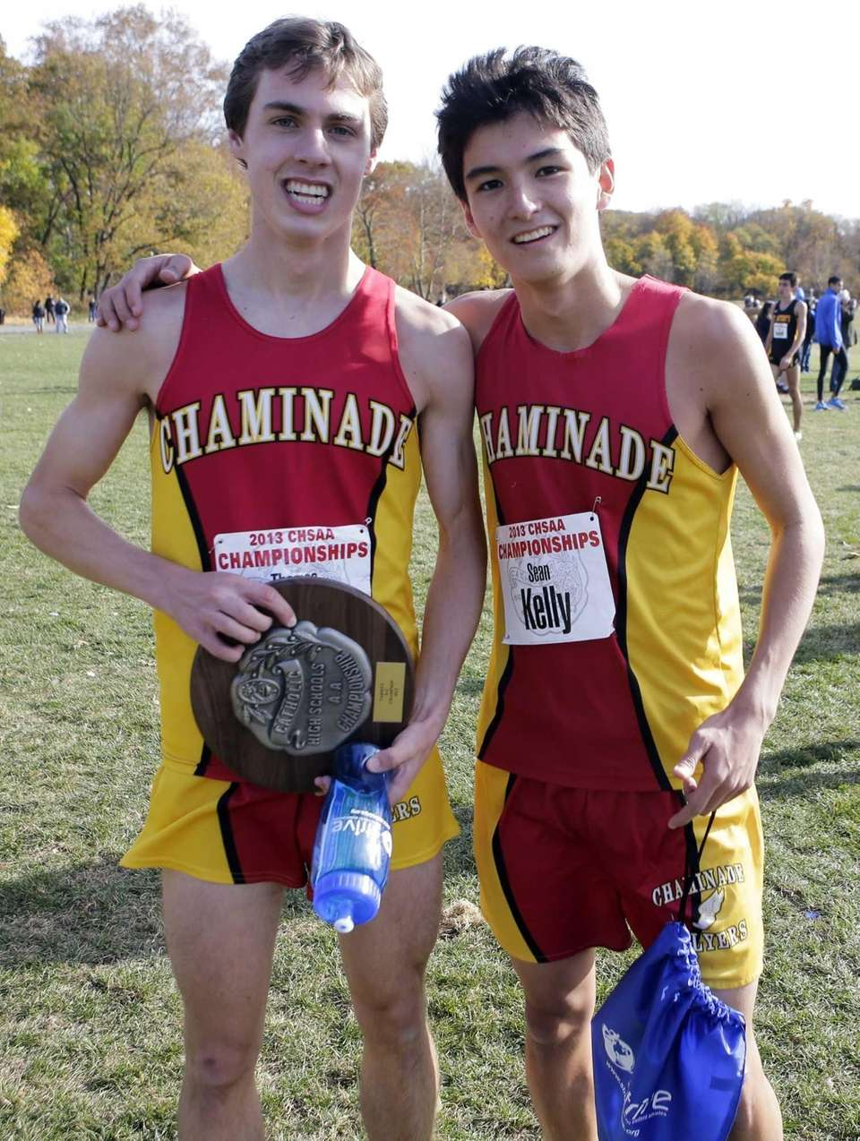 Thomas Slattery, left, and Sean Kelly of Chaminade