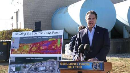 Gov. Andrew Cuomo announces projects fortifying critical coastline