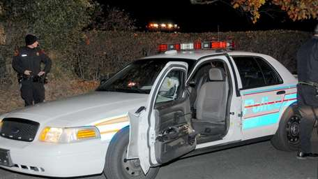 Suffolk County police are searching for the driver