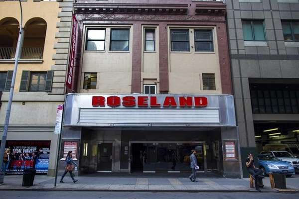 The Roseland Ballroom on West 52nd Street in