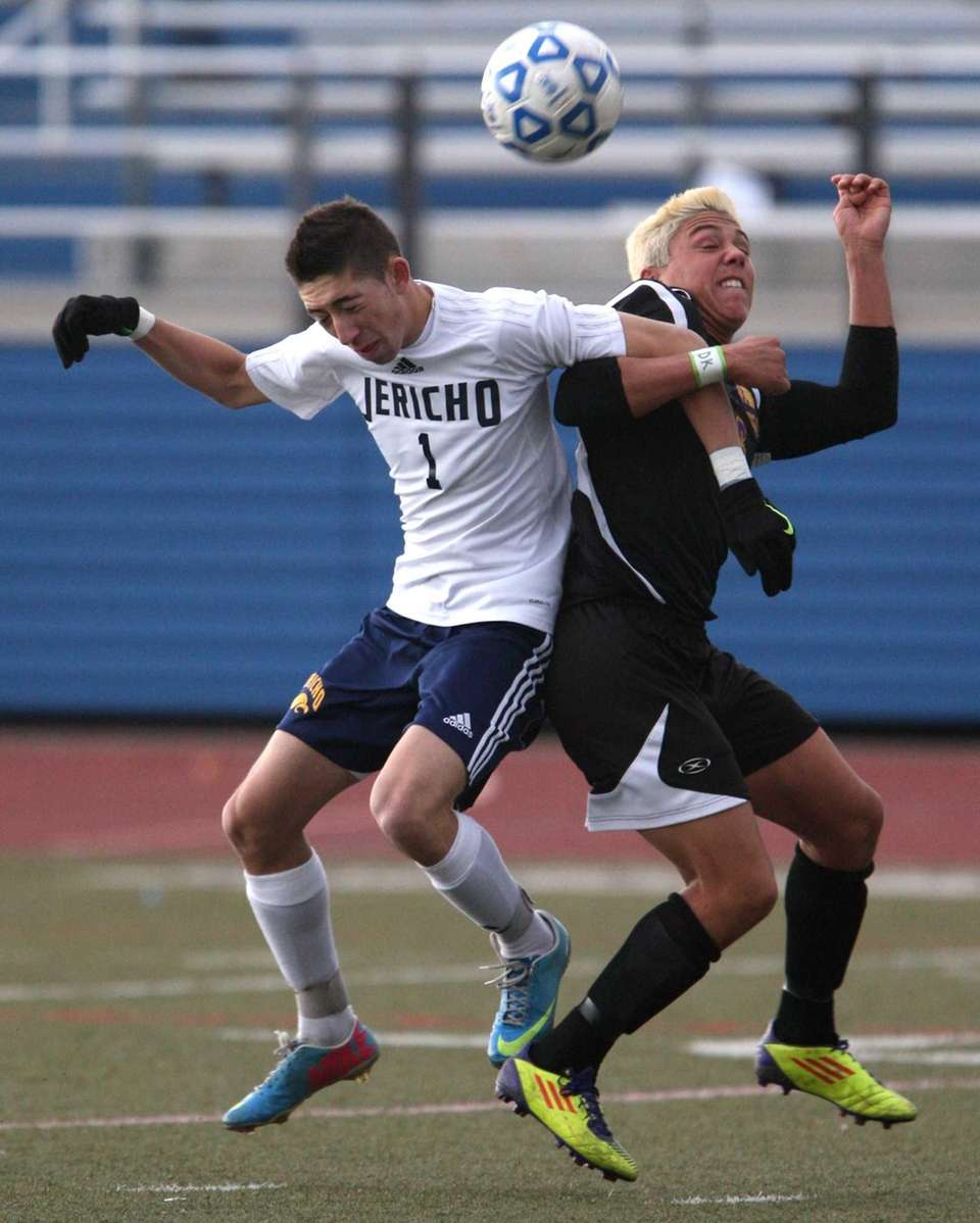 Drew Shuman of Jericho and Justin Siracusa try