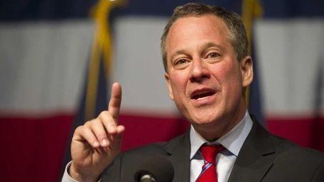 New York Attorney General Eric Schneiderman speaks on