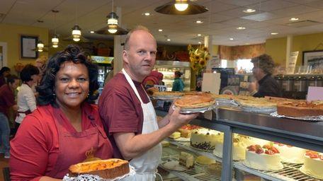 Stace and Flemming Hansen of Copenhagen Bakery in