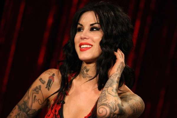 Tattoo artist and TV personality Kat Von D