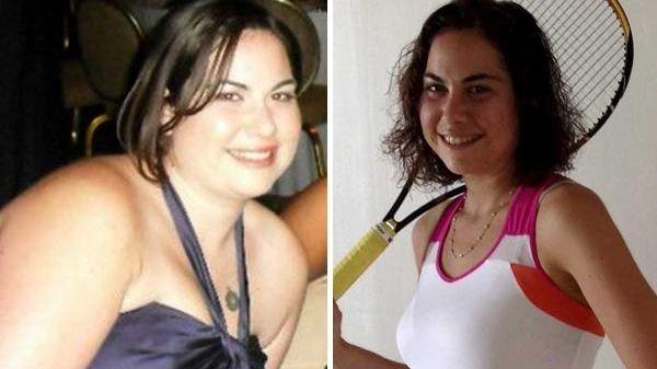 Amanda Goldberg, 25, of East Hampton, went from