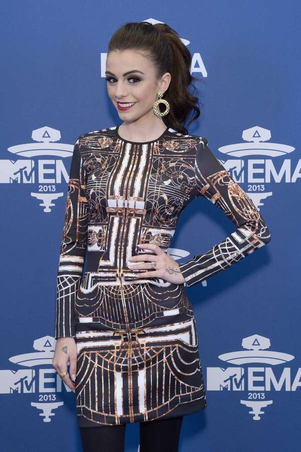 Cher Lloyd attends the MTV 2013 UEMA