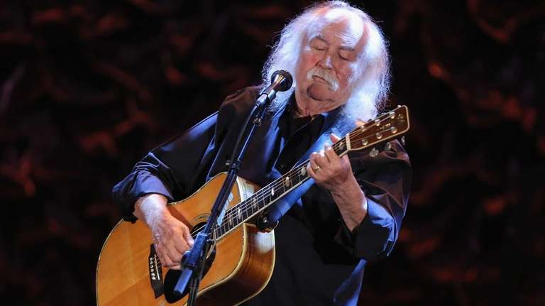 David Crosby performs onstage during the International Myeloma