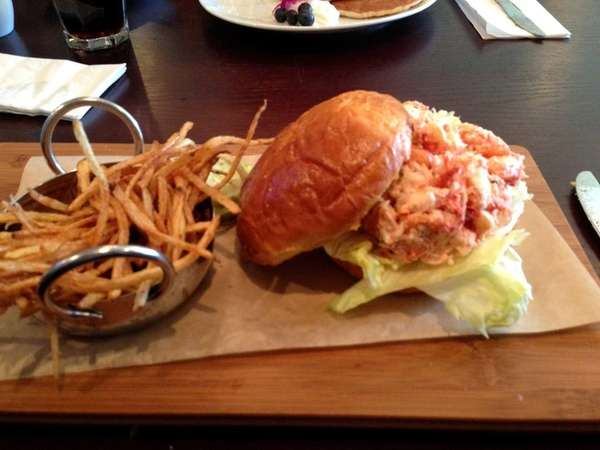 Lobster roll at Jam in Massapequa Park. (November