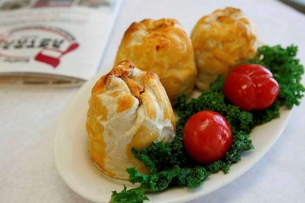 East Meadow's Pastrami Plus offers homemade knish.