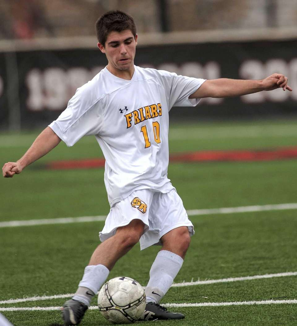 St. Anthony's TJ Butzke takes a shot on