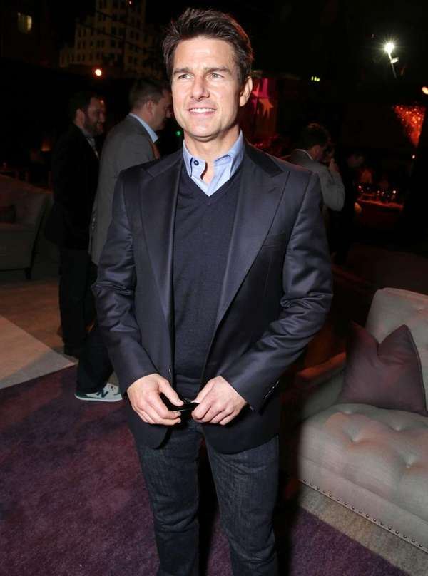 "Tom Cruise arrives at the premiere of ""Star"