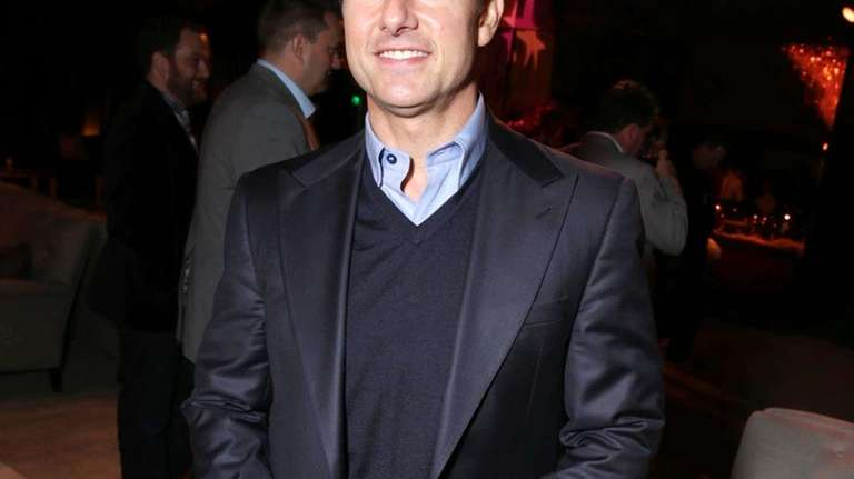 Tom Cruise arrives at the premiere of