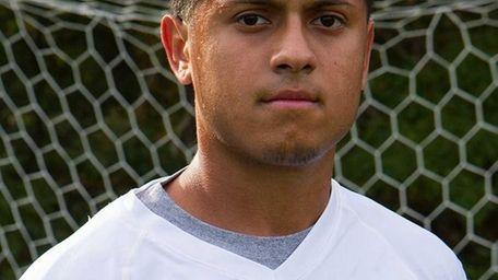 Suffolk CC midfielder Frankie Guzman.