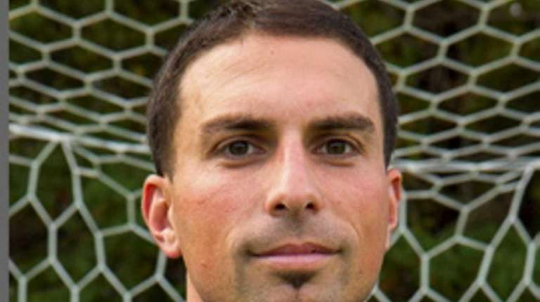 Suffolk CC men's soccer coach Frank Vertullo.