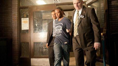 Corey Dunton, 16, the suspect in the Bryant
