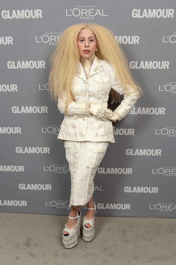 Lady Gaga attends Glamour's 23rd Women of the