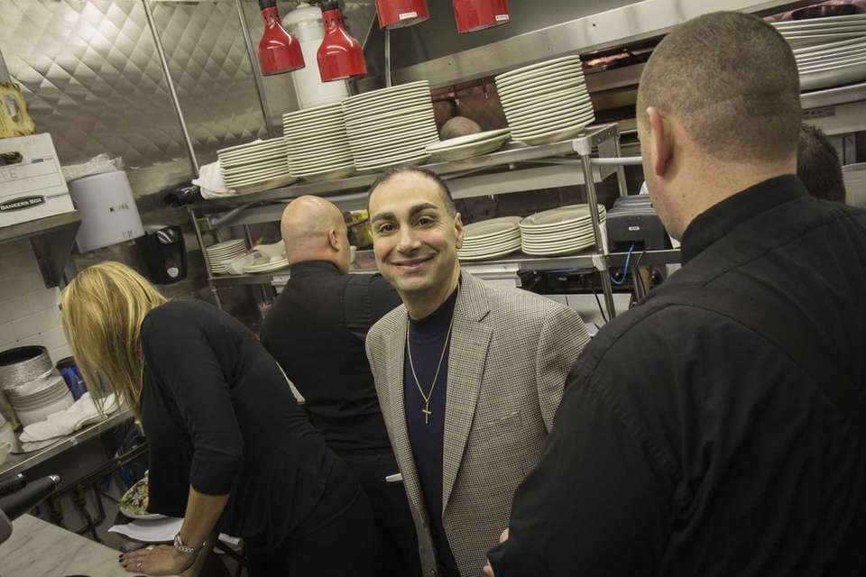 Chef and co-owner Vincent P. Michaels oversees the