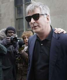 Alec Baldwin leaves criminal court in Manhattan after